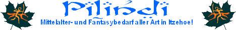 """Hier kommen Sie zur Homepage """"Pilindi"""" – Mittelalter und Fantasybedarf."""