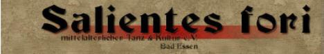 Hier kommen Sie zur Homepage von Salientes fori aus Bad Essen