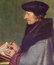 Vergrößerung des Bildes von Erasmus von Rotterdam